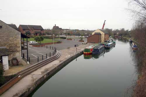 Devizes Wharf on the Kennet & Avon Canal